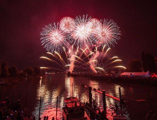 Das Feuerwerk und die Umwelt